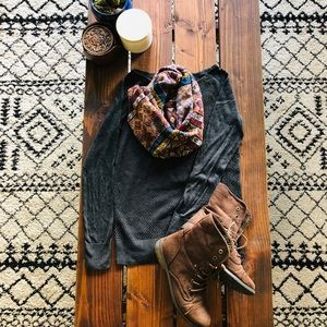 「LOFT」Textured Sweater